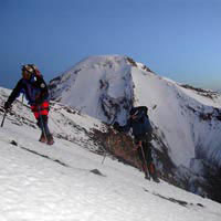 Ascendiendo al Parinacota